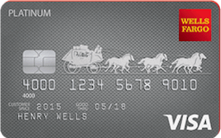Wells fargo avance de trésorerie de carte de crédit platine